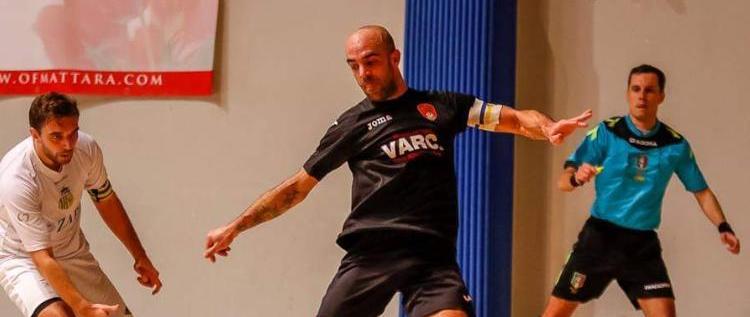 Partita di fuoco per Prazzoli! Per lui il derby di Castelfranco tra Tiemme Grangiorgione e Futsal Giorgione