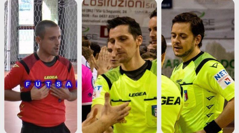 Futsal Serie B, ecco la terna tutta trevigiana: Di Filippo – Voltarel – Barracano!
